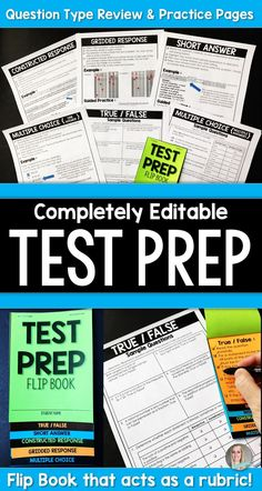 Do your students struggle with answering certain types of test questions? This review resource has you covered!   What is Included? ►► A two page per question style review to help students learn HOW to read and solve each type of problem. Included for each question type is a checklist, example problem, guided practice problem and a page of independent practice problems.  ► A PDF with two pages per question style - one page with steps to answer, an example and a guided practice problem and…