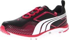 Made from leather with a rubber sole these womens faas lite golf shoes by Puma will have you looking your very best when out on the course