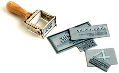 The Daily Gift: Self-Inking Stamps for Custom Correspondence