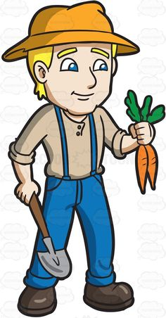 a farmer man vector character illustrated in typical clothes for rh pinterest com farmer clipart png farmers clipart images