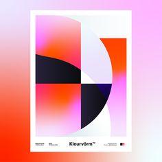 Kleurvorm on Behance Graphic Design Print, Graphic Design Illustration, Illustration Art, African Colors, Passion Project, Color Shapes, Colour, All Poster, Limited Edition Prints