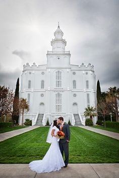 Mike & Kelly Married ~ St. George Temple, Utah Wedding Photographer » Deone Thornton Photography