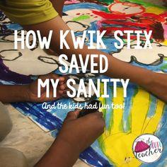 The Tutu Teacher: How Kwik Stix saved my sanity