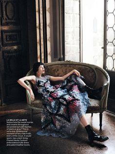 Cinderella Story I US Vogue I September 2013 I Model: Edie Campbell I Editor: Grace Coddington I Photographer: David Sims.