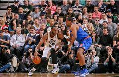 Knicks v Jazz  W 90 - 83