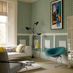 Retro Living Room alwinton corner sofa handmade fabric   retro living rooms, living