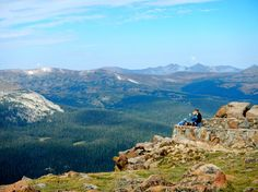 Forest Canyon Overlook in Rocky Mountain National Park sits in the Alpine zone, almost 12,000 feet about sea level. Photo by Josh Hendrickson