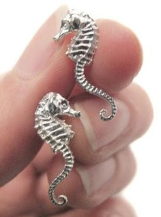 In love with seahorses. Seahorse earrings
