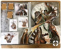 Artist research A Level Art Sketchbook Water Rachael Young A Level Art Sketchbook, Sketchbook Layout, Arte Sketchbook, Sketchbook Ideas, Kunstjournal Inspiration, Sketchbook Inspiration, Kunst Inspo, Art Inspo, Kunst Portfolio