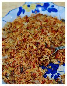 Indonesian Medan Food: Ayam Sisit (Balinese Shredded Chicken) Medan, Balinese, Shredded Chicken, Asian Recipes, Food, Meal, Balinese Cat, Essen, Asian Food Recipes