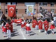 23 Nisan Gösterisi Bayrak Marşı | Gösteri - Müsamere TV