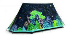 10,000,000 Fireflies tent by FieldCandy