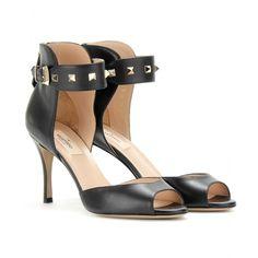 mytheresa.com - Valentino - ROCKSTUD PEEP-TOE PUMPS - Luxury Fashion for Women / Designer clothing, shoes, bags