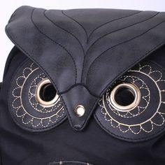 Stylish Owl Shape Solid Color Design Women Shoulder Satchel - Black Mobile Backpack Online, Black Backpack, Satchel, Backpacks, Shoulder Bag, Shape, Stylish, Bags, Stuff To Buy