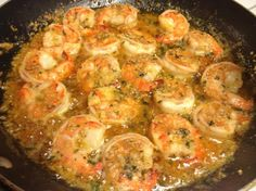 Ingredients: 1 lb medium shrimp, peeled and deveined 1 tablespoon pure olive oil 2 tablespoons garlic, finely chopped 1½ cups whit...