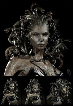 Concept art for Medusa by the Aaron Sims Company
