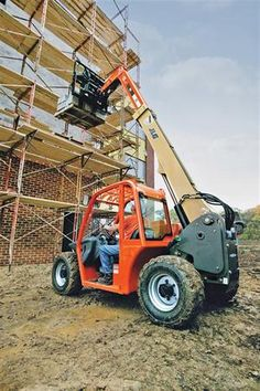 Heavy Lifting, Compact Telehandler  More @ http://www.galmon.com/products/telehandlers