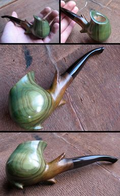 Shire's blossom by HouseOfLostPlay.deviantart. Not a smoker, but I love art pipes