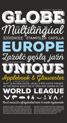 Nexa Rust free font #freefonts #freebies #fontsfordesigners #newfonts #freefonts2014