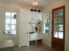 Lullwater Renovation - traditional - entry - atlanta - Soorikian Architecture