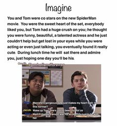 40 Ideas Funny Love Mems For Him Boyfriends Kids Marvel Jokes, Marvel Funny, New Spiderman Movie, Tom Holland Imagines, Tom Holland Peter Parker, Tom Parker, Baby Toms, Avengers Imagines, Tommy Boy