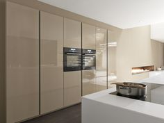 Kitchen base cabinet / free-standing - LINEA by Marconato & Zappa - COMPREX