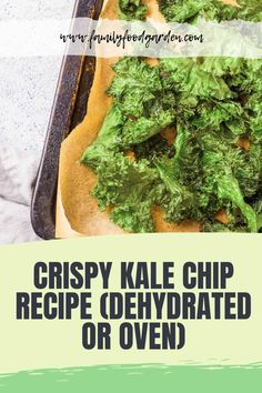 Sharing addictive kale chip recipes. Kale chips are healthy and a great way to use up an abundant amount of homegrown kale. There are many different recipes for kale chips and thus differences in flavor. This recipe happens to be simple and cheap. Check the full details on this pin! #kalerecipes #kale #crispykale Kale Chip Recipes, Beef Recipes, Whole Food Recipes, Cooking Recipes, Healthy Recipes, Easy Cooking, Healthy Cooking, Homemade Kale Chips, Healthy Fruits