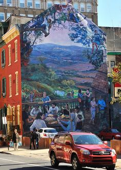 "Among Philly's many claims to fame, its street corner murals offer visitors a peek into the hearts of city residents. At least partially through the efforts of the Mural Arts Program, Philadelphia is now known as the ""City of Murals."""