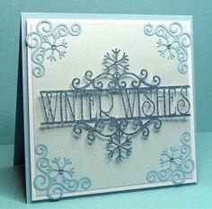Fichier silhouette gratuit carte winer wishes et angles