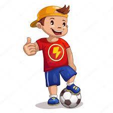 Resultado De Imagen Para Pinterest Dibujos Infantiles Nino Con Pelota De Futbol Dibujos De Futbol Imagenes Infantiles Cuadros Infantiles