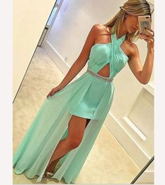 Charming Prom Dress,Sexy Prom Dress,Simple Chiffon Prom Dresses,Long