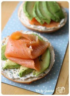Salmon recipes 719731584175751714 - Bagel Saumon Avocat Source by Avocado Breakfast, Healthy Breakfast Recipes, Avocado Toast, Healthy Snacks, Healthy Eating, Healthy Recipes, Healthy Fats, Healthy Drinks, Breakfast Ideas