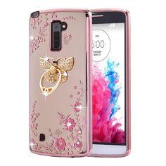 LG Stylo 2 Case ,LG Stylo 2 plus Case Case , BestAlice Slim Soft Gel Clear Bling #BestAlice