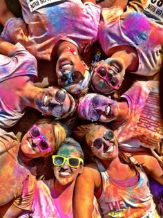 The color run. The happiest 5k on the planet! Memphis 10-13-12