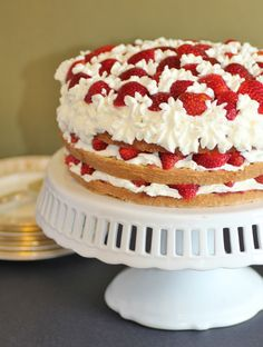 Julia Child's Strawberry Cake
