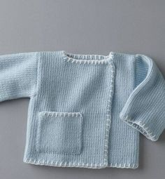 Let's do the handcraft – bebek – Stricken Crochet Baby Jacket, Knitted Baby Cardigan, Knitted Baby Clothes, Knit Crochet, Knitting Patterns Uk, Baby Patterns, Diy Crafts Knitting, Knitting For Kids, Baby Outfits