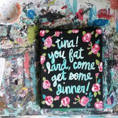 Tina You Fat Lard by PinkHeartHenney on Etsy
