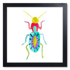 Beetle Print IV, Furbish