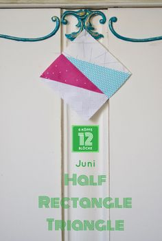 Half Rectangle Triangle 6 Koepfe 12 Block Quilt Block Patterns, Pattern Blocks, Quilt Blocks, Half Square Triangles, Block Of The Month, Quilting Projects, Projects To Try, Quilts, Christmas Ornaments