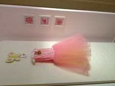 My first daughters dancing outfit, handed down to little sister for a feature on her bedroom door. Dancing Outfit, Dance Outfits, Ballet Room, First Daughter, Bedroom Doors, New Room, Little Sisters, Daughters, Tulle