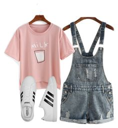 """Untitled #961"" by aaisha123 ❤ liked on Polyvore featuring adidas"