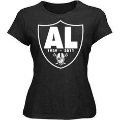 RIP Al Davis Oakland Raiders Nation Womens Tee
