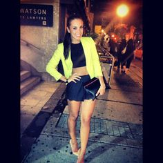 night out on the town outfit