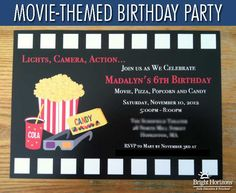This mom loves throwing themed birthday parties for her kids. Today she shares how she hosted a movie-themed birthday party for her daughter's birthday.