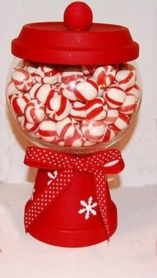 christmas candy dish so much fun to make
