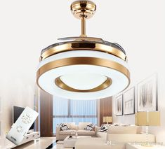 2017 Dimming Remote Control 42inch Led Ceiling Fans Lights With Changeable Light Ceiling Fans 220v 110v For Home Decor From Selectedlighting, $395.98 | Dhgate.Com