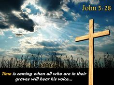 0514 john 528 time is coming powerpoint church sermon Slide01http://www.slideteam.net
