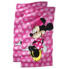 Disney® Minnie Mouse Beach Towel - 2 pack