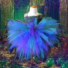 Peacock Bustle Style Tutu Dress http://minivideocam.com/how-to-choose-the-best-camera-for-youtube/