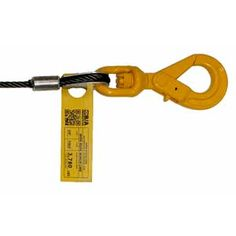 """Wire Rope With Swivel Hook.Wrecker,Rollback. 3//8/"""" X 75/' Winch Cable Steel Core"""